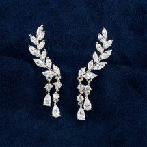 Rakol Tassel উইং স্টাইল Drop Earrings