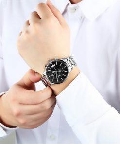 Guanqin Luxury স্পোর্ট Watch Luminous Clock ফর জেন্টস
