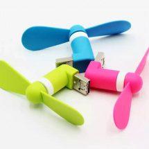 USB+OTG মিনি কুলিং ফ্যান ১টি