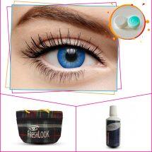 Fresh Look Blue2 tone কালার Contact lense