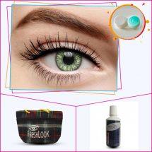 Fresh Look সবুজ 2 tone কালার Contact lense