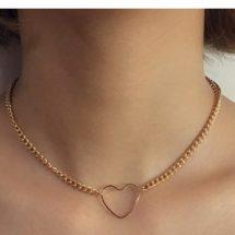 Heart ডিজাইন সিম্পল Necklace For Women