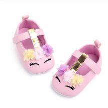 1Pair PU Leather Girls আকর্ষনীয় বেবি Shoes