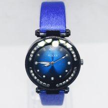 Rolex গাড় নীল রাওন্ড ওয়াচ ফর ওমেন্স
