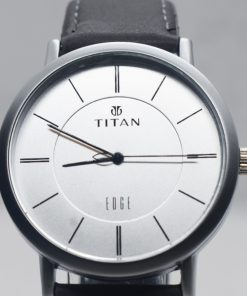 Titan Edge ধূসর স্টেইনলেস স্টীল ওয়াচ ফর জেন্টস