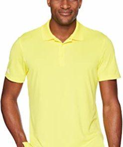 Real Man ছেলেদের হাফ হাতা কটন পোলো শার্ট Yellow