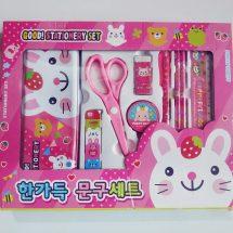 এক্সক্লুসিভ Stationary সেট for Kids (Pink)