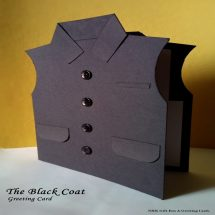 The Block Coat Greeting Card