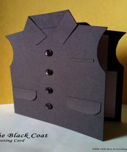 The Block Coat Greeting Card