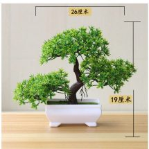 আর্টিফিশিয়াল Bonsai Tree For Green Plants Home decor