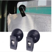 2pcs Window Clip Mount Clip For Sunshade Curtain Towel Ticket