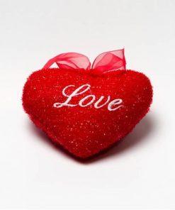 আকর্ষনীয় লাল Love Music Heart Pillow