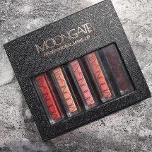 MoonGate Hot 5 Colors Sexy মেট লিকুইড লিপস্টিক