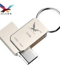 সিলভার কালার অরজিনাল FALCON USB ৩২ জিবি পেনড্রাইভ