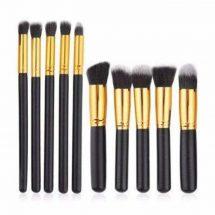 10 PCS Makeup Brush Kit Kabuki Brushes set