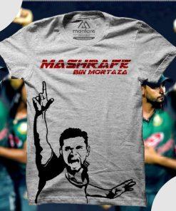 Mashrafe Bin Mortaza আকর্ষনীয় স্কিন প্রিন্ট গোল গলা কটন টি শার্ট