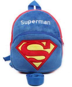 SUPERMAN Toddler বাচ্চাদের ব্যাকপ্যাক/স্কুল ব্যাগ নরম ও মোলায়েম