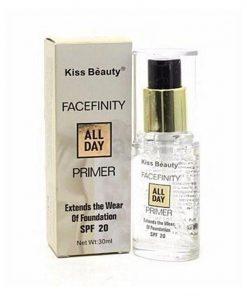 Kiss Beauty ফেসফিনিটি অল ডে প্রাইমার ৩০ মিলি কিস বিউটি ফেইসফিলিটি