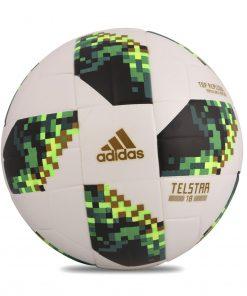 ADIDAS ওয়ার্ল্ড কাপ ২০১৮ টেলস্টার টপ রেপ্লিকা ফুটবল সবুজ