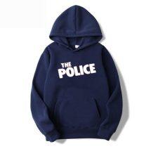 নেভি বলু The Police ডিজাইন কটন হুডি ফর জেন্টস