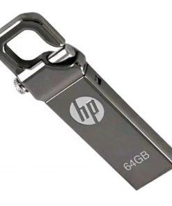 HP স্টীল বডির চাবির রিং স্টাইল ৬৪ জিবি ইউএসবি পেনড্রাইভ 3.1
