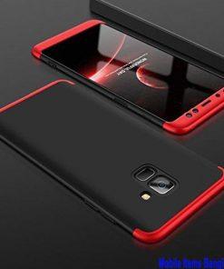 2018 A6 Samsung Galaxy 360 ডিগ্রি ফোনের কেস (কালো এবং লাল)