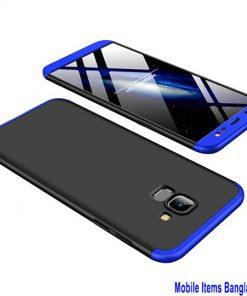 স্টাইলিশ Samsung Galaxy J6 2018 360 কভার কেস