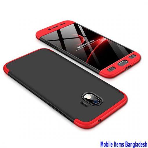 Samsung Galaxy J2 প্রো 360 ডিগ্রি ফোনের কেস কালো এবং লাল