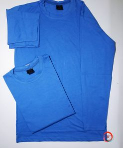 মেনজ নীল রঙের ফুল হাতা কটন EKRAG টি শার্ট