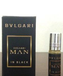 Bvlgari Man In Black কনসেন্ট্রেটেড পকেট পারফিউম আতর ৬ মি.লি.