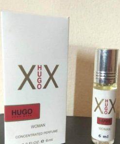 X Hugo X For Women কনসেন্ট্রেটেড অ্যালকোহল মুক্ত পকেট পারফিউম ৬ মি.লি.