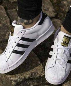 Adidas আর্টিফিসিয়াল লেদার কেইডস
