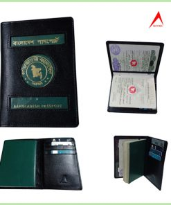 অরজিনাল চামড়ার মাল্টি পকেট পাসপোর্ট কভার PSP02