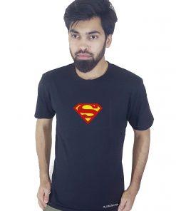 SUPERMAN প্রিন্টেড ক্যাজুয়াল টি শার্ট