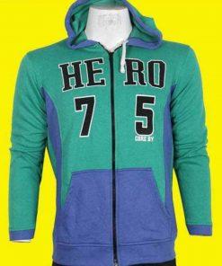 HERO 75 জেন্টস ফ্লিস কটন লং স্লিভ হুডি