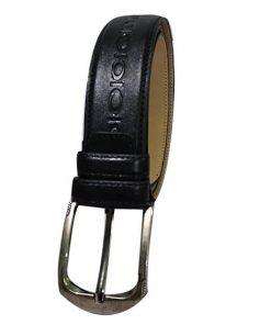 কালো কালার লেদারের বেল্ট AR013