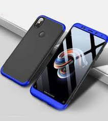 Xiaomi Redmi Note 5 Pro 360 প্রটেকটিভ মোবাইল ব্যাক কভার (র্যান্ডম কালার)