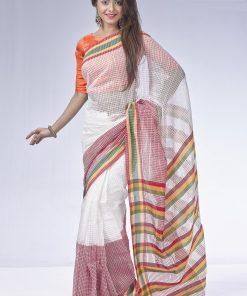 আকর্ষনীয় সিল্কের পার্টি শাড়ি DS173