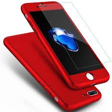 Iphone 7 plus স্লিম মোবাইল ব্যাক কভার (র্যান্ডম কালার)