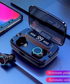 NEWEST M11 TWS Wireless Earphone LED Digital Display Touch 5.0 IPX7 Waterproof Mini Wireless Bluetooth Headset Headphone With Binaural HD Call