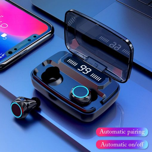 NEWEST M11 TWS Wireless Earphone LED Digital Display Touch 5.0 IPX7 Waterproof Mini Wireless Bluetooth Headset Headphone With Binaural HD Call