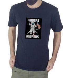 FINDERS KEEPERS প্রিন্টেড হাফ হাতা কটন টি শার্ট