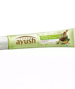 Lever Ayush Toothpaste gel Cardamom (80gm)