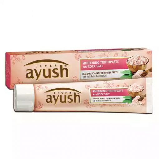 Lever Ayush Toothpaste Whitening Rock Salt