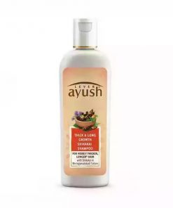 Lever Ayush Shampoo Thick & Long Growth Shikakai