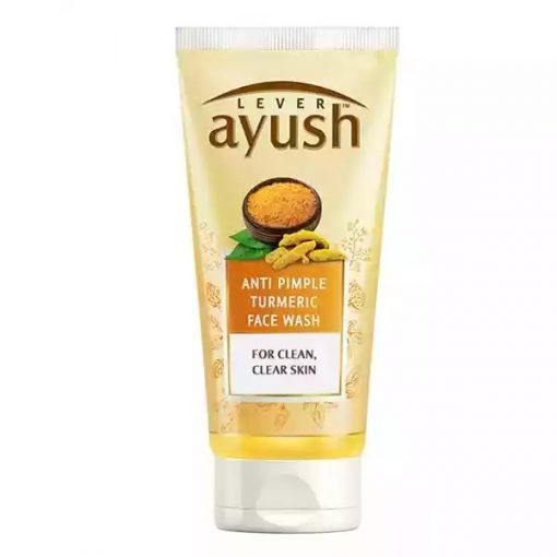 Lever Ayush Face wash Anti Pimple Turmeric 80 ml