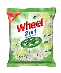 ৫ পিস Wheel Washing Powder 2in1 Clean & Fresh