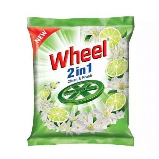 ৫ পিস Wheel Washing Powder 2in1 Clean & Fresh