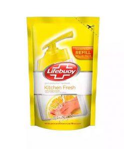 ১০ পিস Lifebuoy Handwash Lemon Fresh Refill (170 ml)