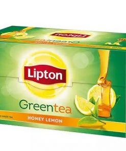 Lipton Green Tea Bag Honey and Lemon 50 pc